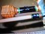 栃の竿尻、勇白石師は独学で竿作りを研究20本目の作