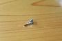 三角アームパイプトップ02-1.5クローム仕上げ